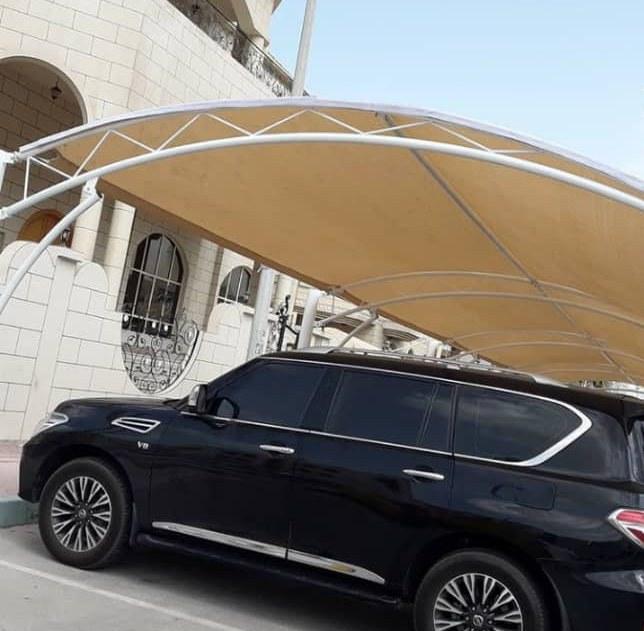 مظلات سيارات صور وتصميمات حديثة للشركات والفلل والقصور 0535553929